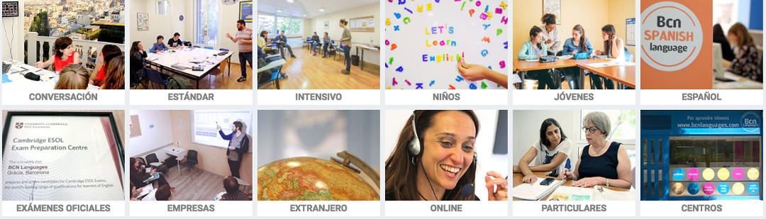 cursos de inglés en Barcelona