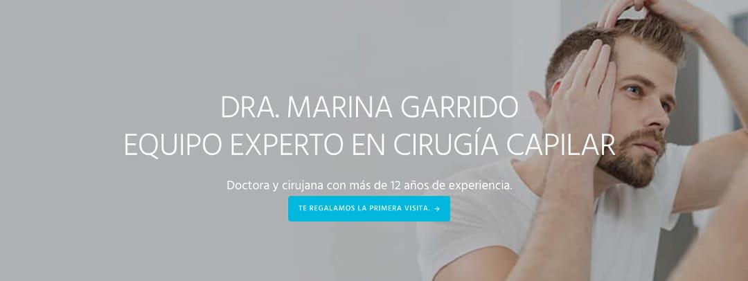 clínica capilar Marina Garrido